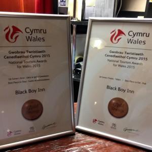 Black Boy Inn Bronze