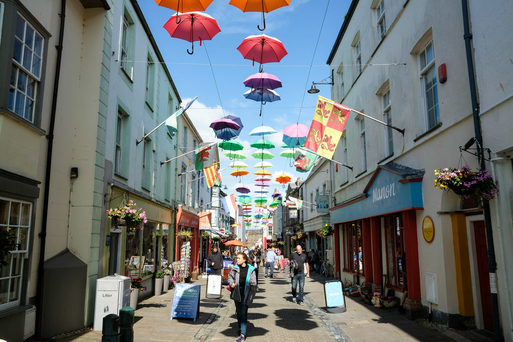 Caernarfon Street Named One of The Best In The Country