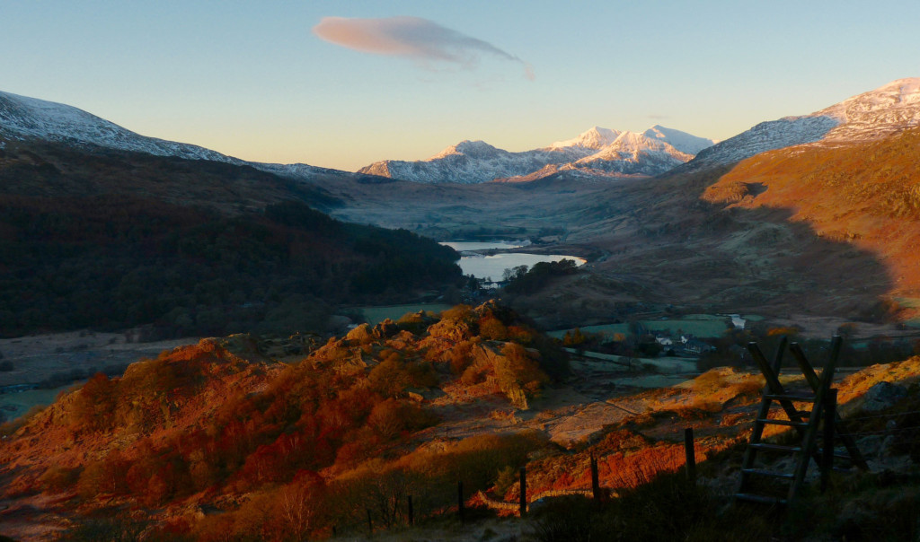 Snowdonia in the Wintertime